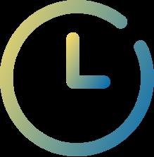 Flexible Arbeitszeiten - Uhr Icon