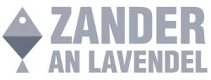 Zander an Lavendel Logo